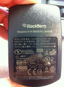 Original BlackBerry cell phone wall charger x 2 like new 4 sell
