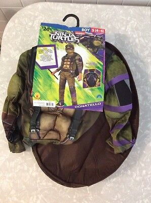 Donatello Teenage Mutant Ninja Turtle Halloween Costume Size Small 4–6 New In P…