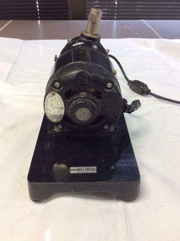 Welch General Electric A-C Motor 5KH23AC304 1/20HP, 115V, 1.6A, RPM 1725 (8910S)