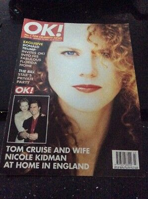 OK 19/1/97 Nicole Kidman Donald Trump Louise Germaine Chris Ellison Hunniford