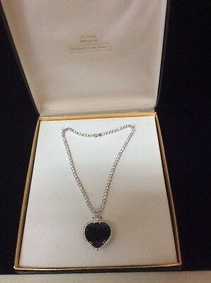 THE J. PETERMAN HEART OF THE OCEAN NECKLACE
