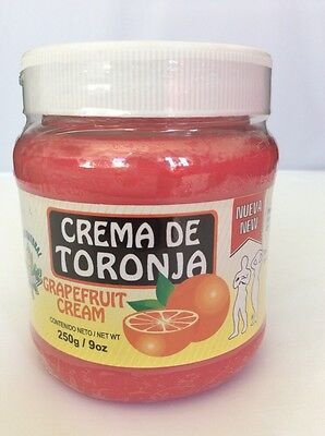 CREMA TORONJA 9oz. - Body Wrap Grapefruit Cream experation 2018