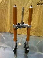 YAMAHA R6R 2014 FRONT FORKS AND TRIPLE TREE ONLY 50 Mi