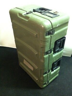 HARDIGG 33x21x13 Wheeled Medical Supply Chest #3 Pressure Release Hard Case