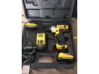 Dewalt DCF813D2 10.8v Lithium Ion Compact Cordless Impact Wrench 2 x Batteries NO OFFERS THANKS