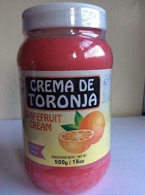 CREMA TORONJA BOTE GRANDE DE 18 OZ  Body Wrap Grapefruit Cream experation 2018