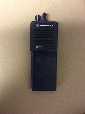 Motorola Mts2000 H01ucd6pw1bn Radio For Partsnot Working