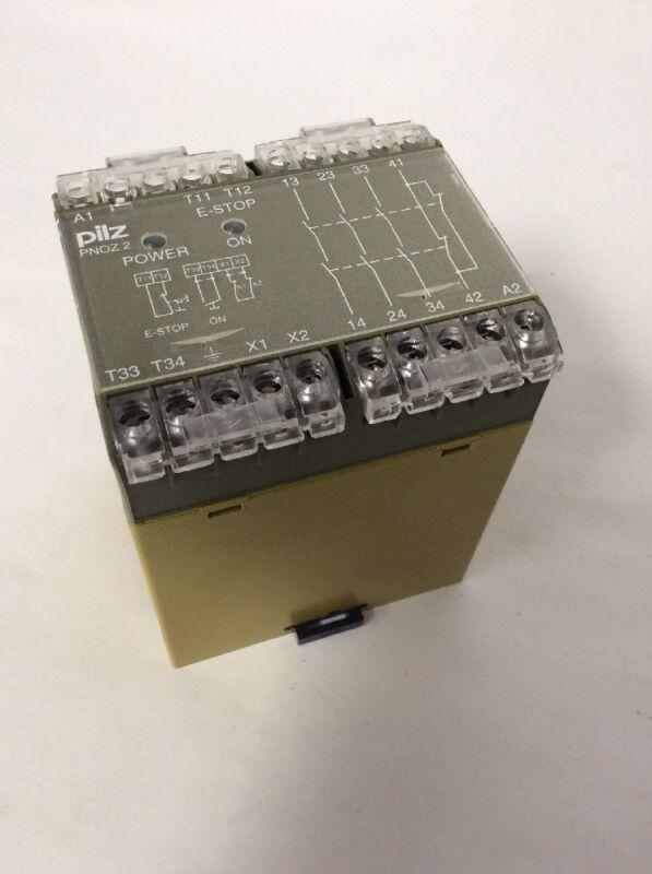 Pilz PNOZ/2 120VAC 3S 1O Safety Relay