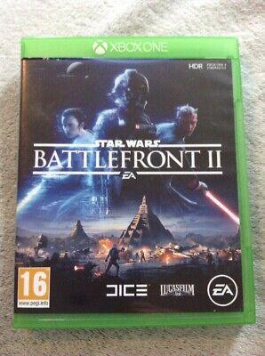 Xbox One Star Wars Battlefront 2 Game