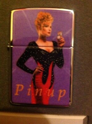 zippo lighter Pin-Up 1996 Collectible Of The Year