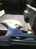 YAMAHA R6R 08-09 LH SIDE LOWER COMPLETE AND TAIL SECTION
