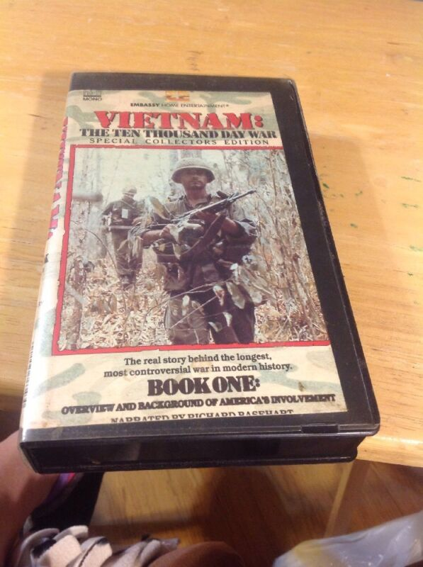 VIETNAM THE TEN THOUSAND DAY WAR VHS - Book One