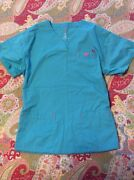 Womens Scrub Tops Medium