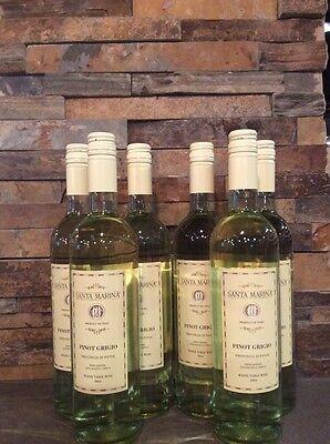 6-Botlles 2015 Santa Marina Pinot Grigio