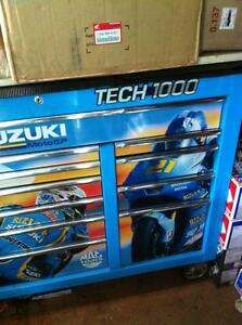 MAC TECH1000 RIZZLA SUZUKI LIMITED EDITION TOOL BOX Windsor Region Ontario image 3