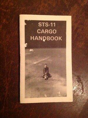 NASA SPACE Shuttle STS-11 Cargo Handbook 22 Fact Pages Flight Details