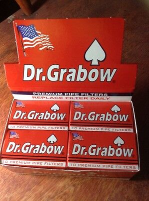 Dr. Grabow Premium Pipe Filters - NEW IN BOX 120 Count 2 1/4
