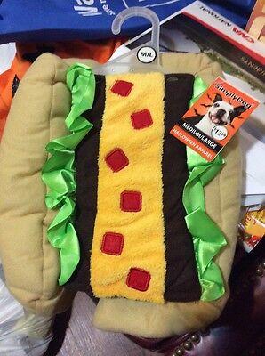 Dog Taco Costume Size M/L
