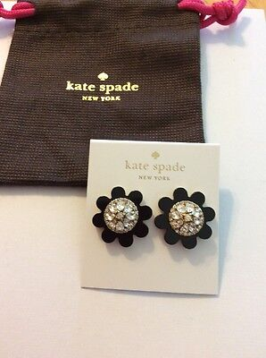 $68 Kate Spade Shadow Blossoms Collection Earrings  #102