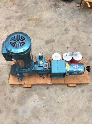 Milton Roy Efr160b-96 Metering Pump 51.3 Gph At 100psi