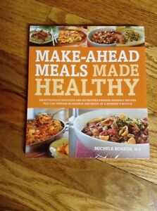 *Wonderful Book* Make-Ahead Meals Made Healthy Recipes    NEW  (in sealed pack)