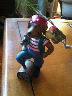 Salty Sea Dog - Salty Sea Dog Pirate  Ornament New Midwest Cannon Falls Retired