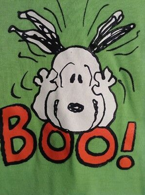 NWT Peanuts Scared SNOOPY BOO! Pet Dog Shirt MEDIUM Halloween Costume - Boo Dog Halloween Costume