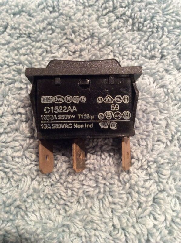 Arcolectric C1522BA C1522AAbb Momentary (ON)OFF(ON) Rocker Switch MOM REPLACEME
