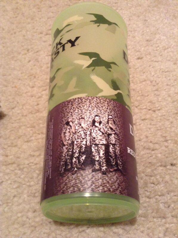Duck Dynasty A&E Uncle Si Robertson Tea Cup Green Camo Christmas Drink 16oz Si