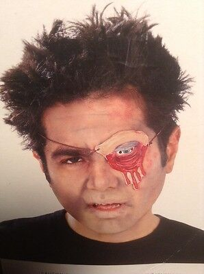 NEW Halloween Stage Blood Dripping Scary Zombie Eye Patch Costume Accessory](Eye Blood Halloween)