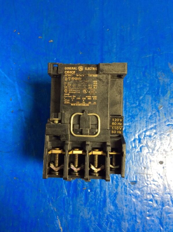 GENERAL ELECTRIC CONTACTOR CR4CF
