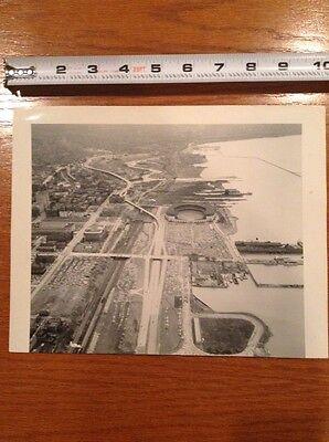 1960s Cleveland Municipal Stadium original Press Photo Sporting News Seal