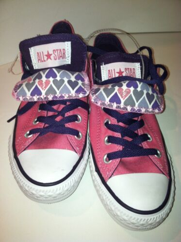 CONVERSE All Star Canvas Pink Chucks Sneakers Tennis Shoes P