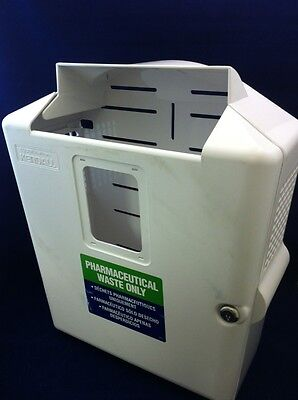 Kendall In-room Sharpsafety Wall Enclosure Sharps Disposal System 85301h See Des