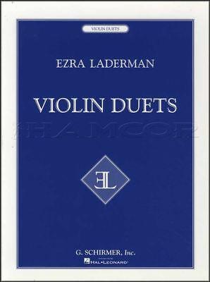 Ezra Laderman Violin Duets Sheet Music Book Duo Classical G Schirmer