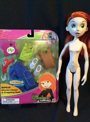 DISNEY'S KIM POSSIBLE FASHION DOLL  And New ACCESSORY KIT #50021~CLUB BANANA~!