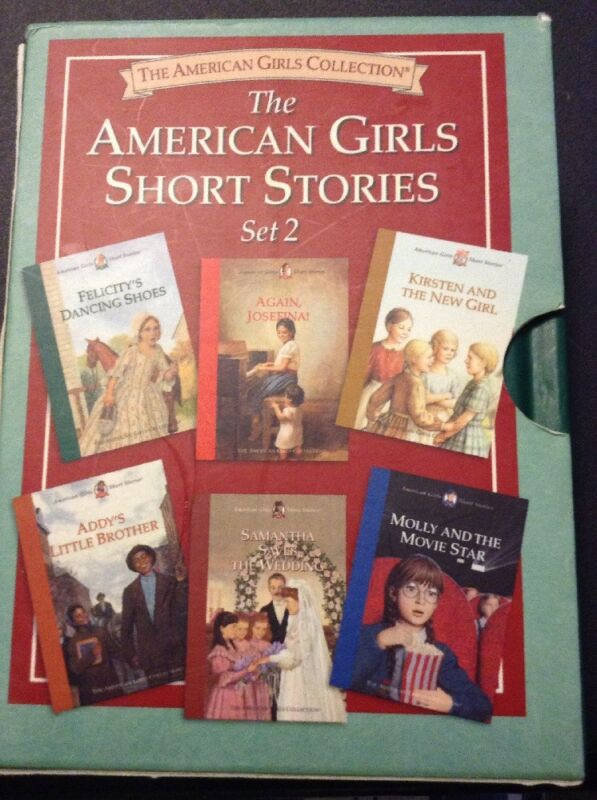 The American Girl girls Short Stories Set 2 (6 Books)