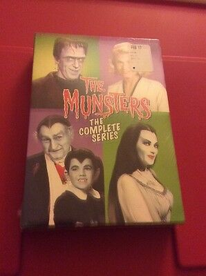 The Munsters - The Complete Series-DVD-