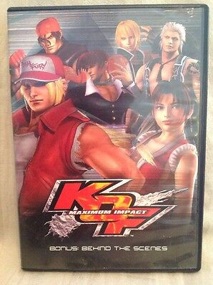 King of Fighters KOF Maximum Impact Bonus: Behind the Scenes DVD! B15