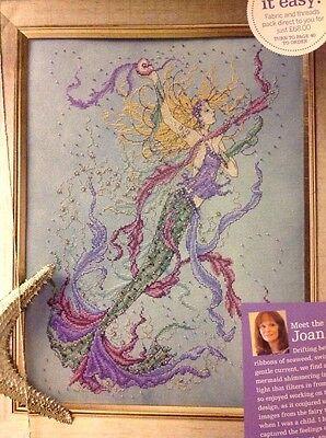 Joan Elliott Fantasy Mythical Muse Mermaid Cross Stitch Chart