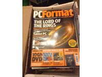 76 x PC Format Magazines - 1998 to 2004 + 3 x PC Plus + 2 x T3