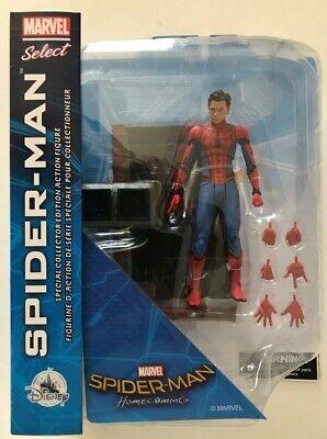 Marvel Select Spider-Man Homecoming Movie Diamond Unmasked Tom Holland Parker
