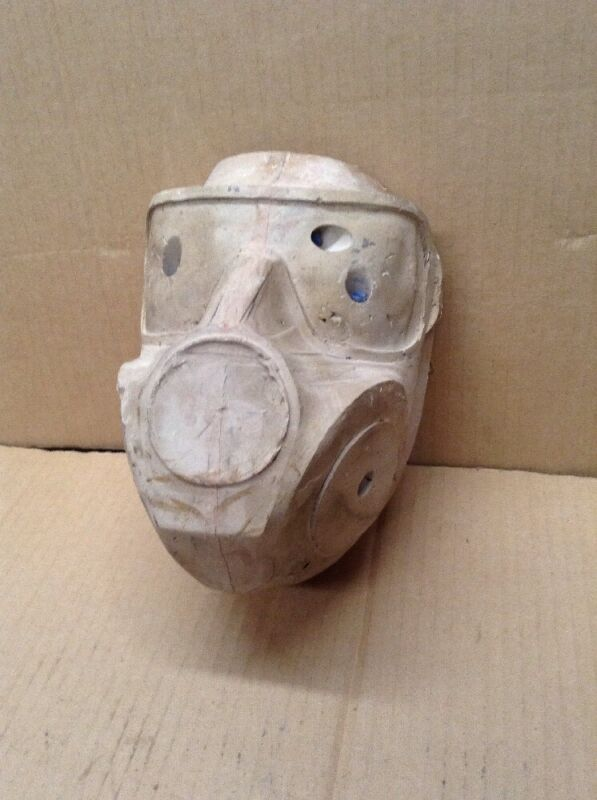 Head  Mold  Mask  Unpainted Front Face