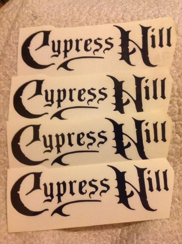 Cypress Hill Band Logo 4 die cut stickers Free Shipping