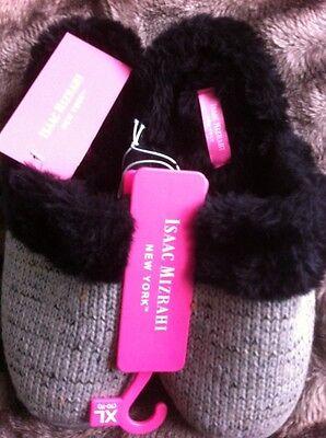 Isaac Mizrahi Slippers Size XL New Designer $32.00