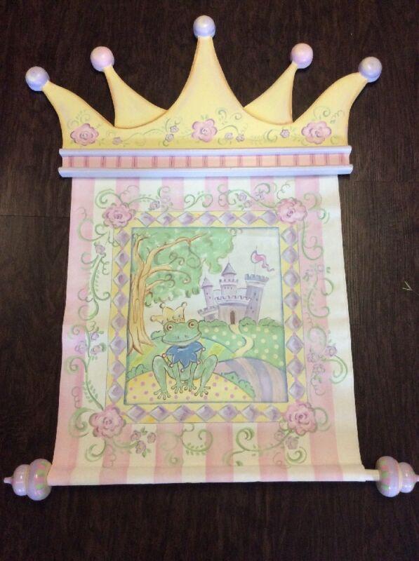 Frog Prince Wall Art Princess Nursery Rendition By Reesa Free Pick Up DFW Area