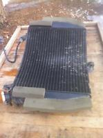 YAMAHA R6S 2006 RADIATOR AND OTHER PARTS