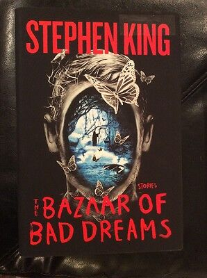 The Bazaar of Bad Dreams: Stories by Stephen King Hardcover ~ Free Shipping