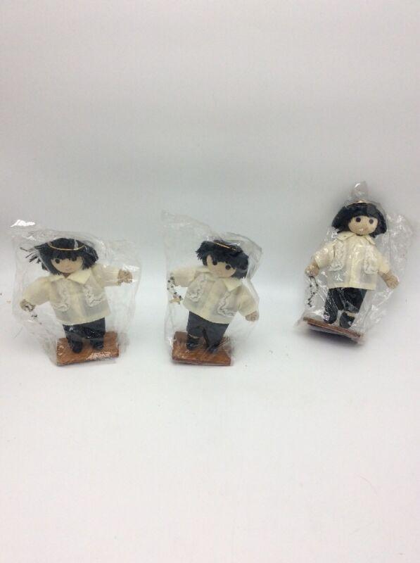 Vintage angel dolls  lot of 3 S5  nIP