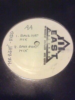 Redd 12  Mix Promo Vinyl Mr  Right 4 Tracks 1992 White Label 111 East Not Cd